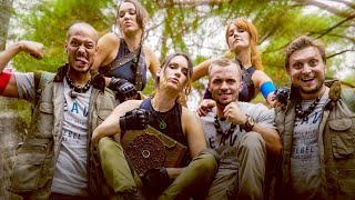 ÉNORME ESCAPE GAME EN FORÊT (feat. Squeezie, Natoo, Audrey Pirault, Justine Le Pottier)