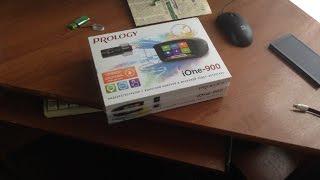 Prology iOne-900 распаковка и установка видеорегистратора