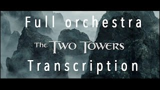 howard shore refuge at helm s deep cover full orchestra