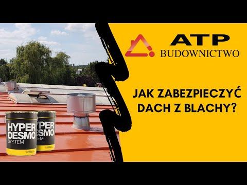 Hydroizolacja Dachu Krytego Blachą Trapezową - Część II - YouTube