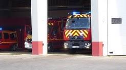Départ FPT01+VIDP+VLPC Pompiers Lyon-Cusset.