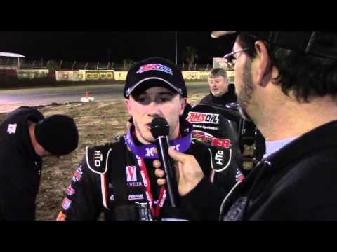 USAC Sprints East Bay Raceway Park FL 2/26/2015