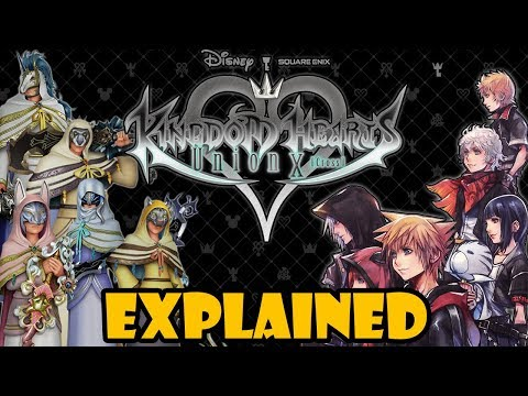 The Full Story Of Kingdom Hearts Union Cross (KHUx) Explained