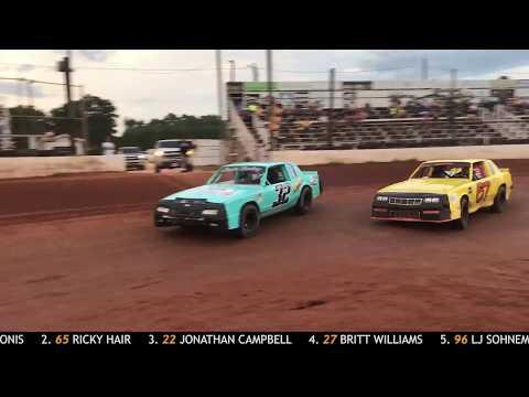 Sumter Speedway Recap 8/18/2018