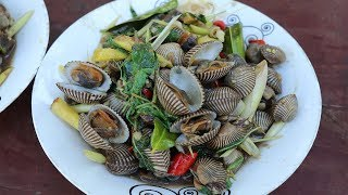 Awesome Cooking Fry Spicy Shell With Tamarind Recipe -  Show Eating Delicious - Village Food Factory