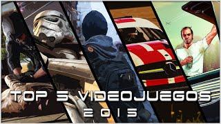 TOP 5 VIDEOJUEGOS 2 0 1 5