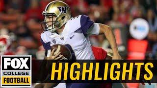 Washington vs Rutgers | Highlights | FOX COLLEGE FOOTBALL