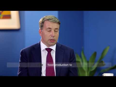 Yicai interviews Mr.Uldis Augulis, Minister for Transport, Latvia (11/13)