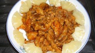 今晚食乜餸 --- 菠蘿咕嚕肉