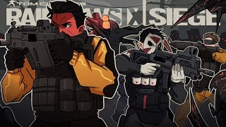 THESE ZOMBIES ARE RUTHLESS Rainbow Six Siege w H2O Delirious Ohmwrecker
