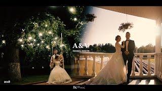 klip A&V wedding Moscow