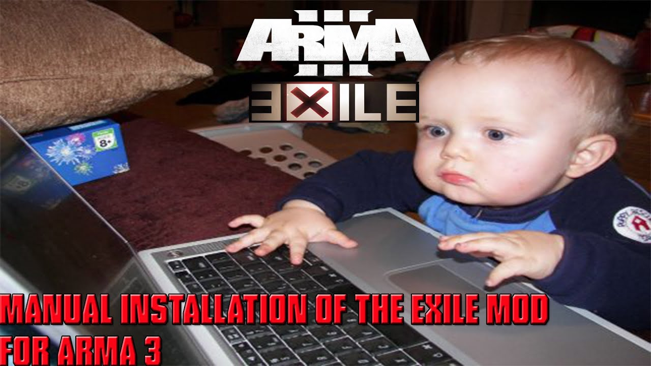 how to install exile on arma 3