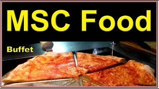 MSC Cruises Dining. Buffet Tour. MSC is a growing budget cruise lin...
