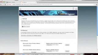 Vbulletin 5 connect: database backup ...