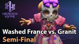 ► Heroes of the Storm: Washed France vs. Granit Gaming - HeroesHype Premier Series