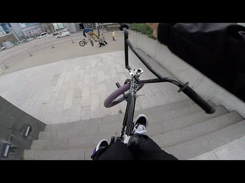 GoPro BMX Bike Riding in Tallinn, Estonia
