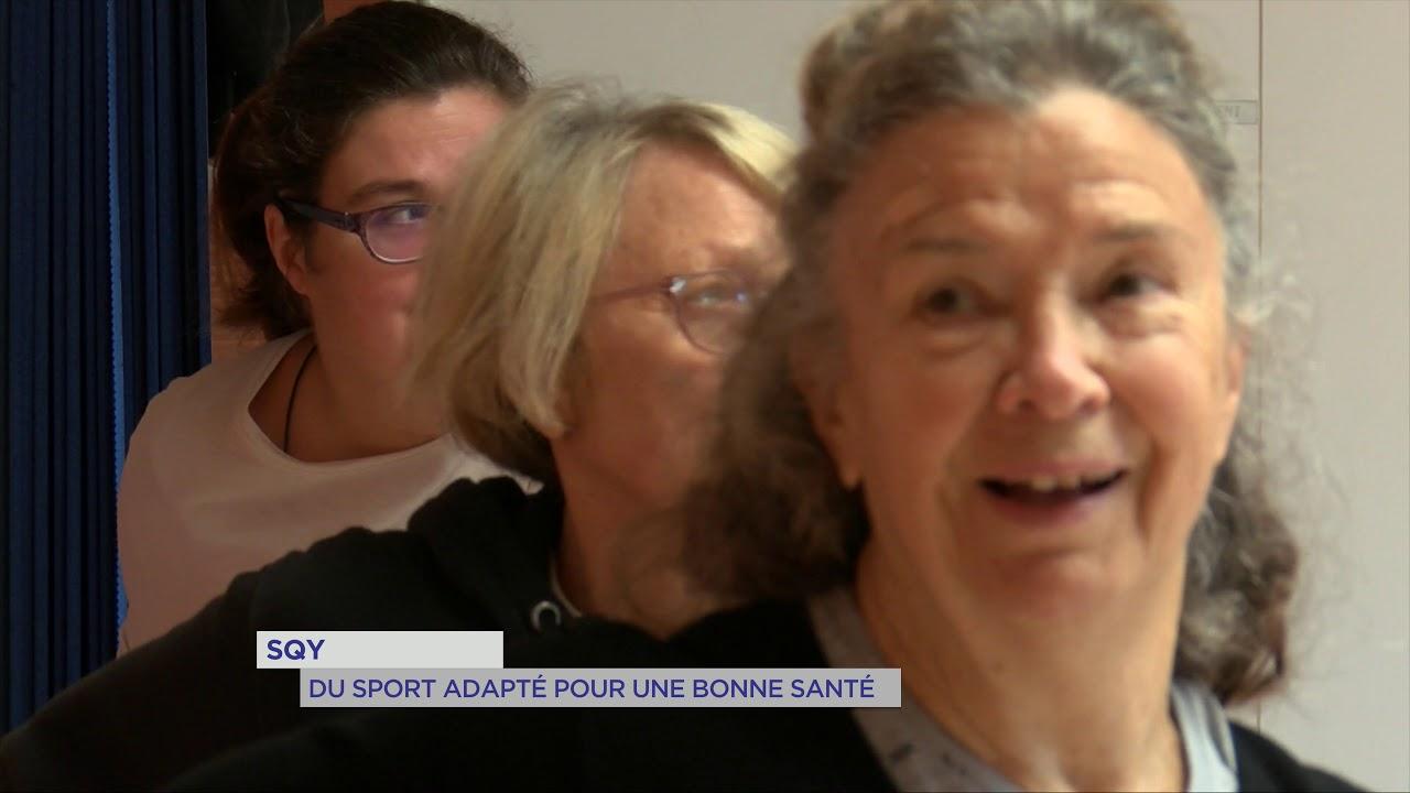 SQY : Du sport adapté pour une bonne santé