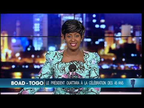 Le 20 heures de RTI 1 du 13 novembre 2018 par Fatou Fofana Camara