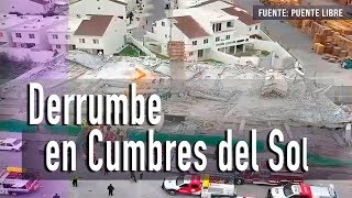 Continúa la búsqueda de atrapados en el derrumbe de Cumbres del Sol, Monterrey   Noticias ENVIVO