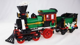 BOOTLEGO Review: Lepin Winter Holiday Train Set #36001 (Knockoff of Lego #10254)