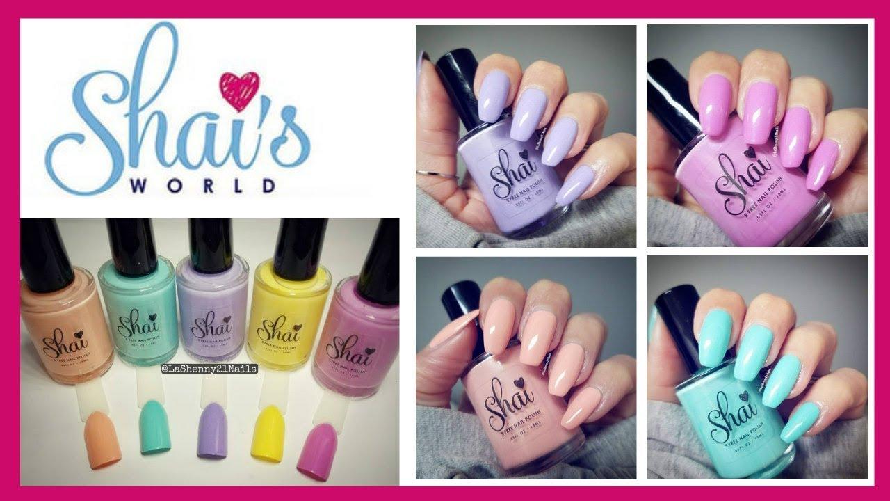 Spring 2018 Nail Polish Collection - Shai\'s World || LaShenny21Nails ...