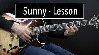 Sunny Lesson - Easy & Advanced Jazz Guitar Lesson by Achim Kohl