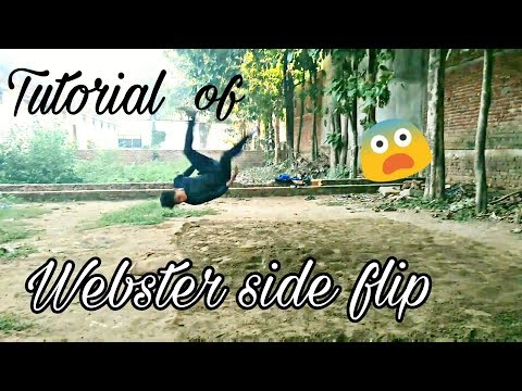 Tutorial of Tiger shroff's best flip webster side flip