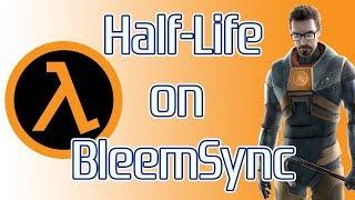 Half-Life on Playstation Classic through BleemSync!