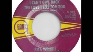 Rita Wright -  I Can