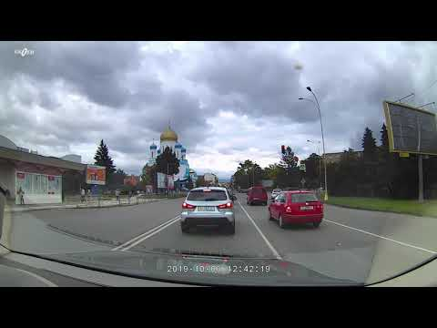 Dashdoard Camera Gazer F730 Sample Video Cloudy And Sunny Day