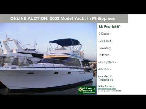 2002 Model Motor Yacht For Sale - Philippines