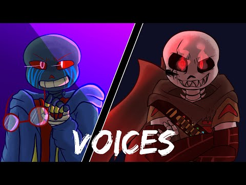 Mr. Error & Fell!Ink Head Canon Voices + Theme Songs [EXPLICIT LANGUAGE]
