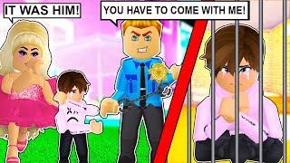 Ho il mio bambino arrestato e mandato in prigione! (Roblox)