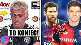 MESSI vs PIĄTEK! Wyścig po złotego buta! Mourinho ZWOLNIONY! Kto zostanie nowym trenerem?
