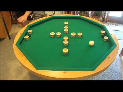 Bumper Pool 101 The Finished Table Top Allows You To Enjoy A Casual Meal Or  Sip On Your Morning Cup Of Coffee. Flip The Top Around And You Will Find A  42 ...