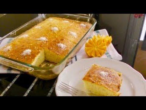 Sponge Orange Cake - Semolina Cake
