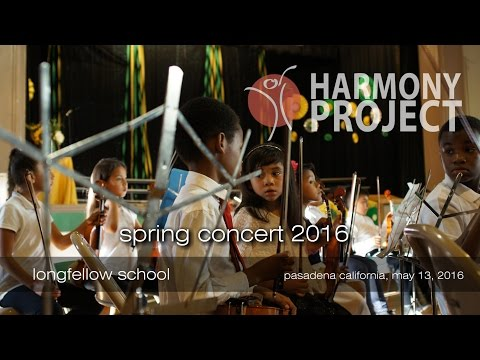 Harmony Project Spring Concert - Longfellow School - May 2016