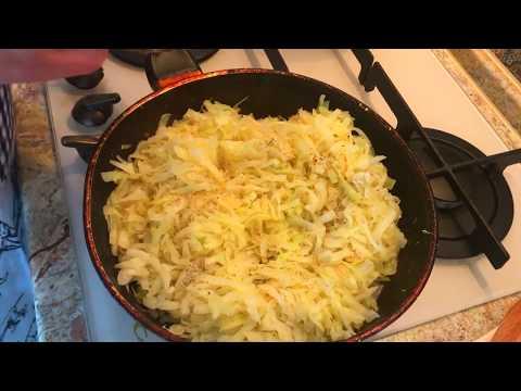 Как приготовить начинку из капусты для пирожков