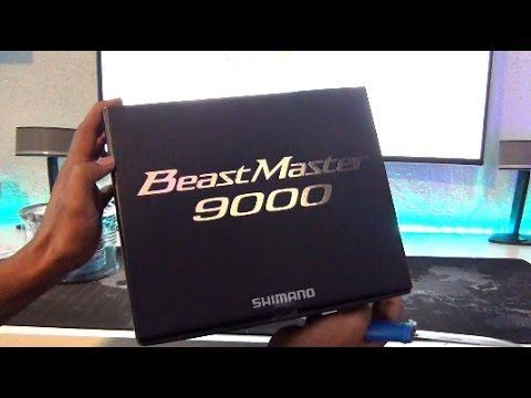 MOST EXPENSIVE REEL - Shimano Beastmaster 9000 Unboxing