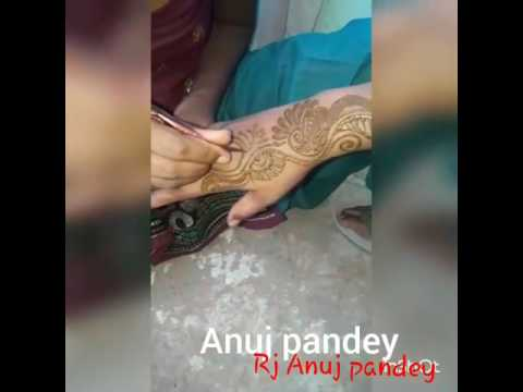 Mahendi posted by Rj Anuj pandey from kanpur city