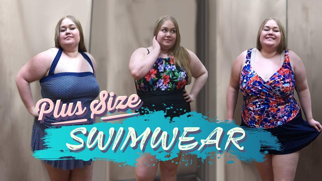 Inside The Dressing Room / Change Room Walmart Clothing Plus Size Fashion  Swim Wear Haul