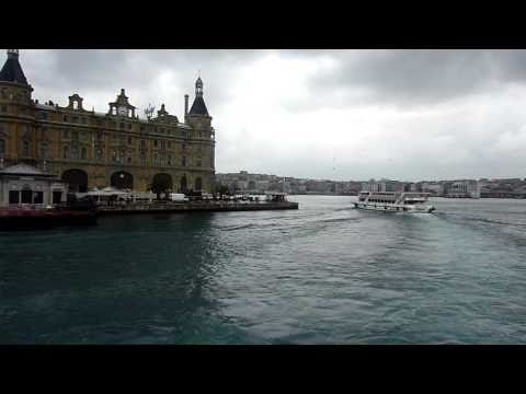 Istanbul (6).     Schiffsfahrt von Eminönü nach Iskelesi