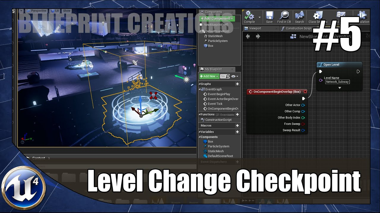 Level changing checkpoint 5 unreal engine 4 blueprint creations level changing checkpoint 5 unreal engine 4 blueprint creations tutorial youtube malvernweather Gallery