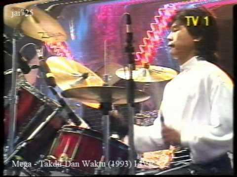 Mega - Takdir Dan Waktu (1993) LIVE