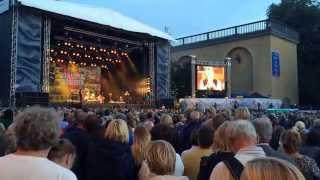 Live - Bo Kaspers Orkester - Götaplatsen 12/8/14 - Intro Trumpet - Vi kommer aldrig att dö