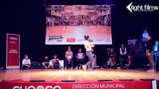 Mortal Kombat 2015 | Bgirl Campanita (Venezuela) vs Bgirl Flor (Argentina) | 1ra Ronda