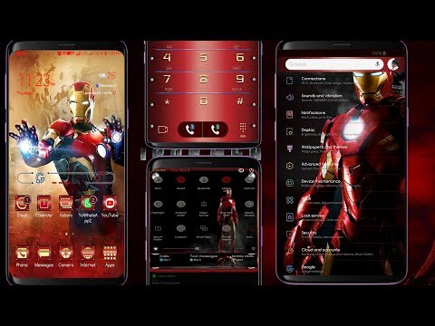 iron man theme for android free download