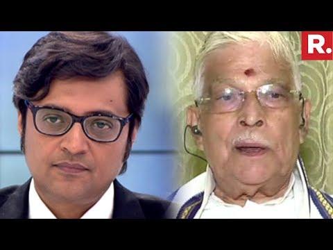 Murli Manohar Joshi Speaks To Arnab Goswami | #RIPVajpayee