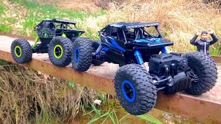 ROCK CRAWLER RC Car 1:18 CONQUEROR 4x4 trial