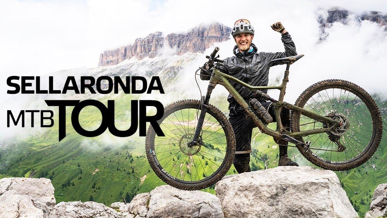 Schönste MTB-Tour der Alpen: Sellaronda (3.915 HM) aus Wolkenstein in Südtirol | Mountainbike